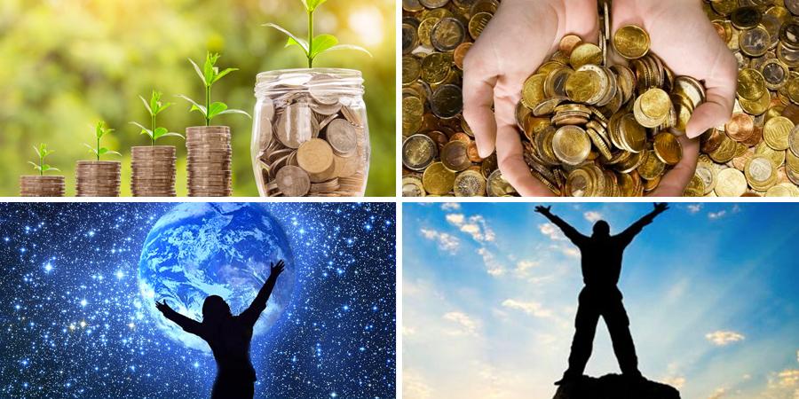 Imágenes de la abundancia y prosperidad