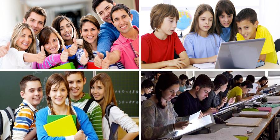 Imágenes de estudiantes