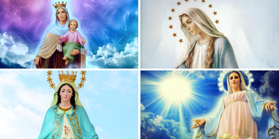 Imágenes de María la Milagrosa