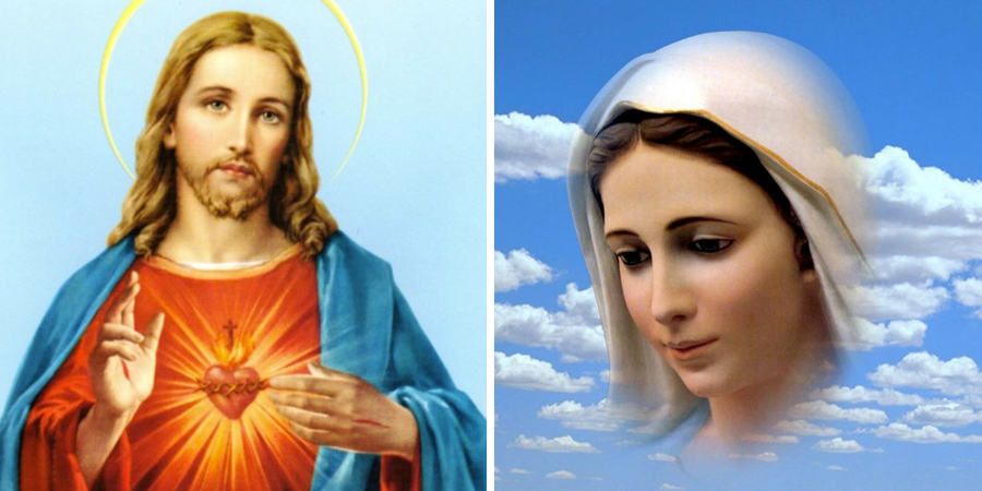 Imagen de Jesús y María