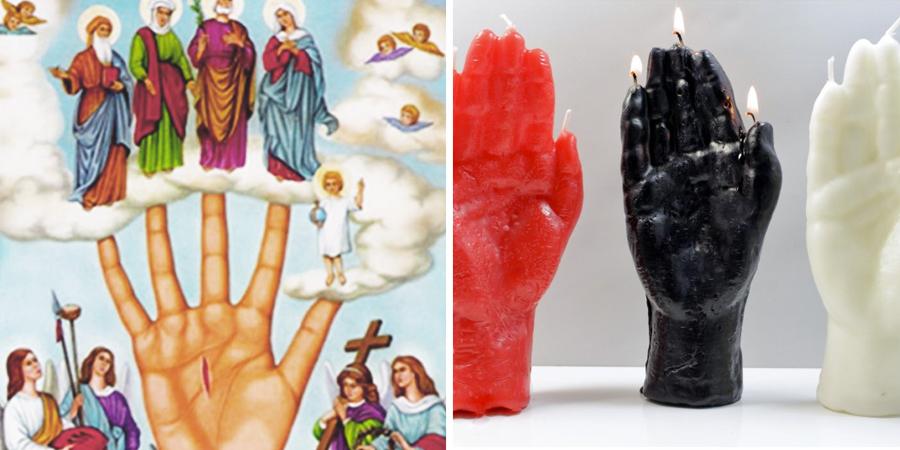 Imágenes de la mano poderosa