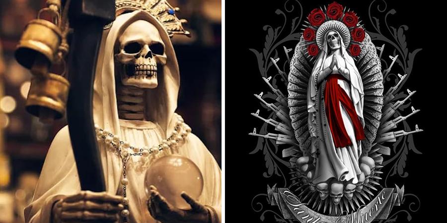 Altar (E Imágenes) A La Santa Muerte
