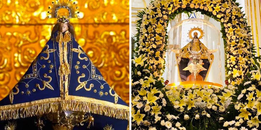 Altar a la virgen de juquila