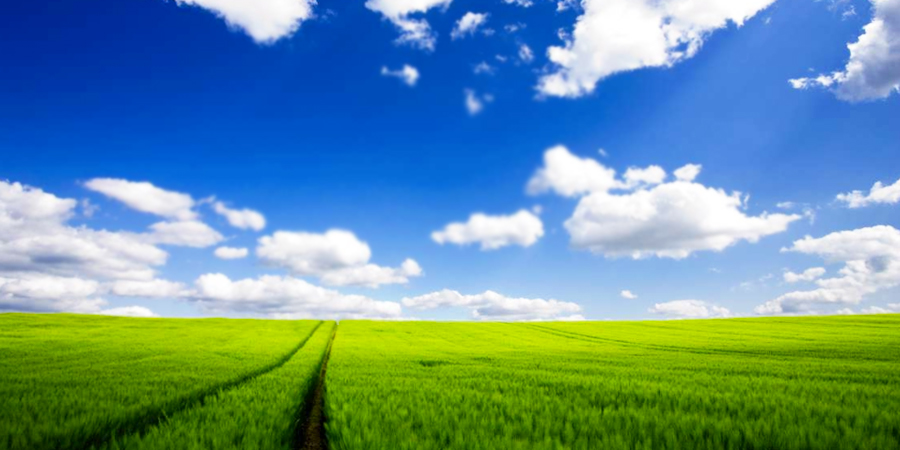 Cielo bonito con nubes