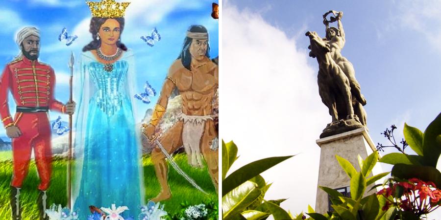 Estatua de Maria Lionza