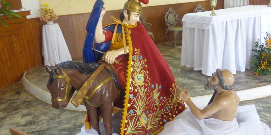 Estatua de San Martin de Loba