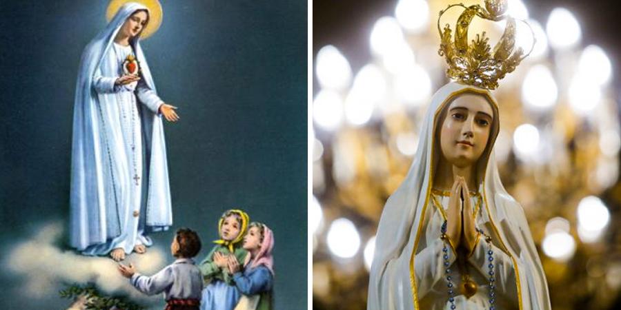 Imágenes de la virgen de Fatima