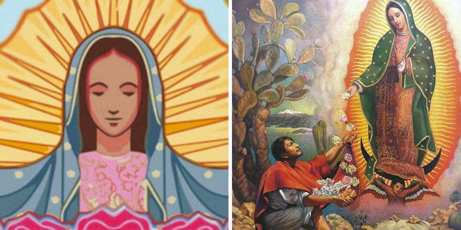 Oración A La Virgen De Guadalupe Para El Amor Milagro Y Más