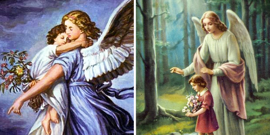 Imágenes del ángel de la guarda
