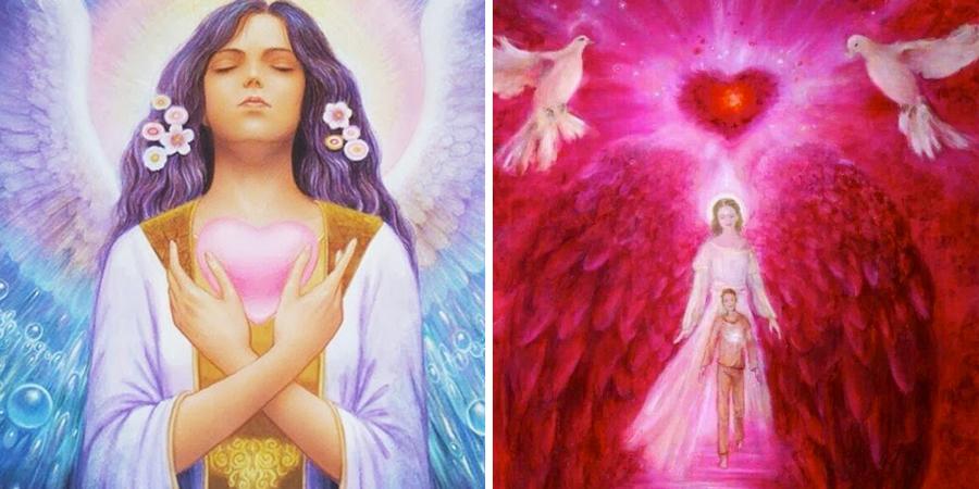 Imágenes del ángel del amor