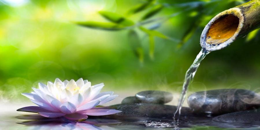 Paisaje natural con agua