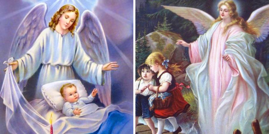 Protección de nuestro ángel de la guarda